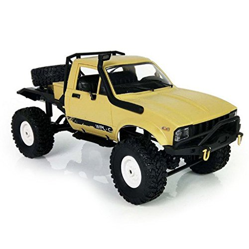 Yuly WPL C14 1/16 Scale 2.4G 4WD Off-road RC Semi-Truck Car Toy Auto Vehicle RTR Gift