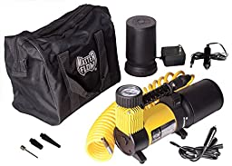 MasterFlow Rechargeable Air Compressor for motorcycles, ATV\'s, Cars, SUV and light trucks.