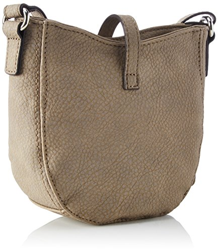 GERRY WEBER Damen By Side Shoulderbag Svz Schultertasche, 6,5x18x19 cm Braun (Latte Macchiato)