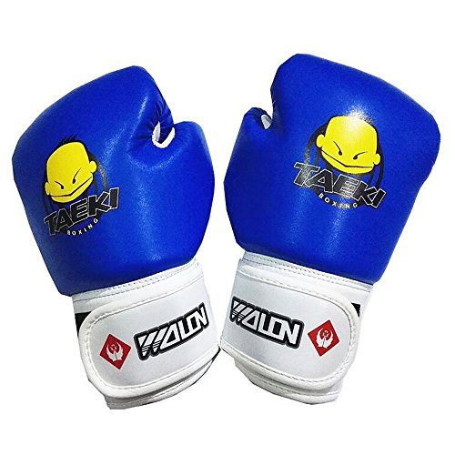 Kids Boxing Gloves, Pu Kids Children Cartoon Sparring Boxing Gloves Training Age 5-12 Years