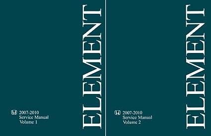 2008 honda element service manual