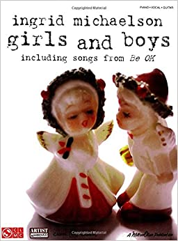 Book Ingrid Michaelson Girls And Boys Piano Vocal Guitar Book