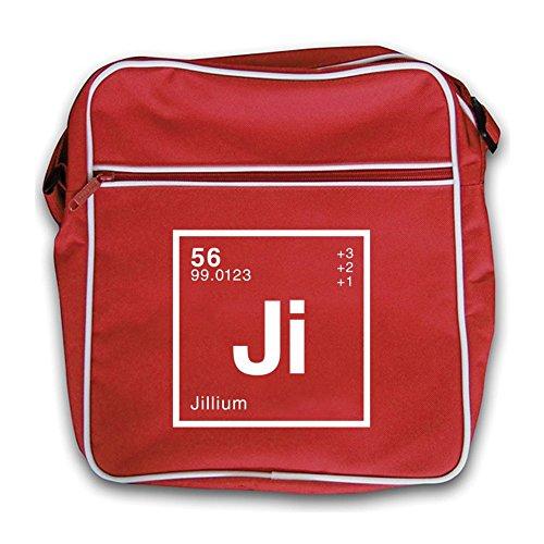 Bag Flight Dressdown Element Jill Retro Red Periodic qpq481a