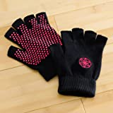 Gaiam Grippy Yoga Gloves, Pink