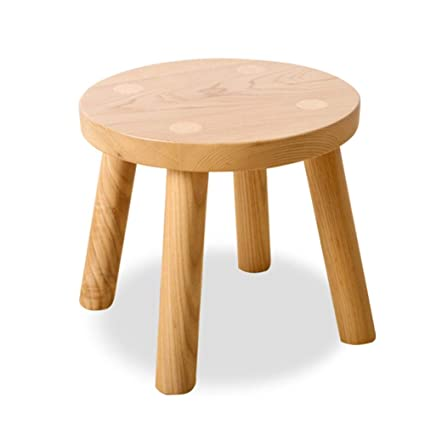 Amazon.com: Small Stool-Nordic Solid Wood Small Bench Home Adult Low ...