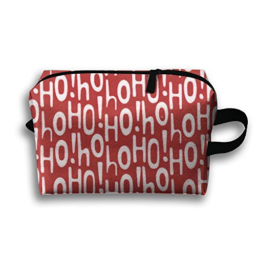 HOT Holiday Ho Red Toiletry Kit Travel BAG Cosmetic Carry Case Portable Makeup Pouch Waterproof Travel Bag For Women (Order Ho Kit)
