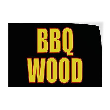 Amazon com : Decal Sticker Multiple Sizes BBQ Wood