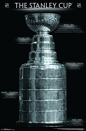 """Trends International Stanley Cup Premium Wall Poster, 22.375"""" x 34"""""""