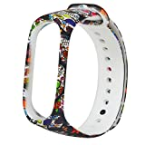 Replacement Bands Compatible for Xiaomi Mi Band 3 Adjustable Sport Wristbands