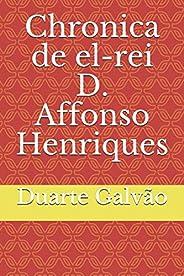 Chronica de el-rei D. Affonso Henriques