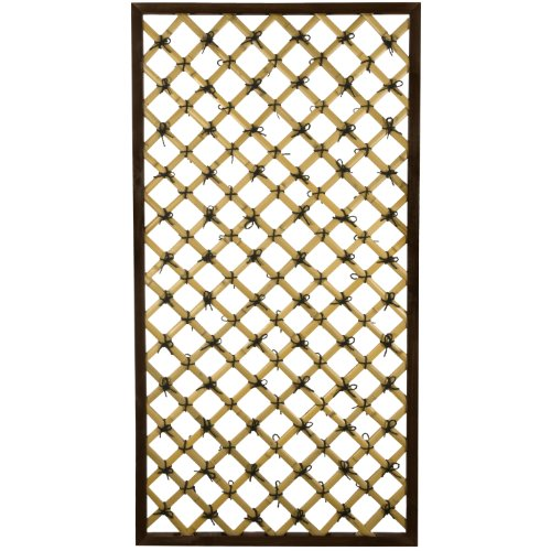 Oriental Furniture 6 ft. x 3 ft. Tall Traditional Bamboo Trellis