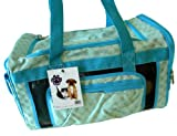 Just Paws Pet Carrier Duffle - Luxurious pet traveling bag
