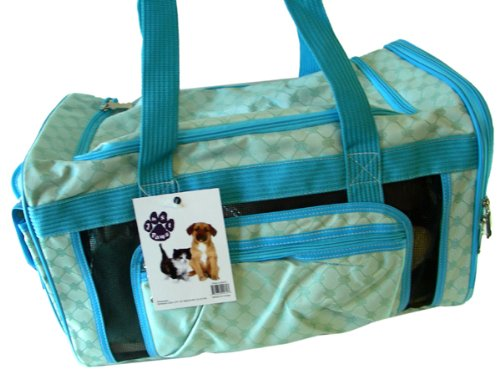 Just Paws Pet Carrier Duffle – Luxurious pet traveling bag, My Pet Supplies