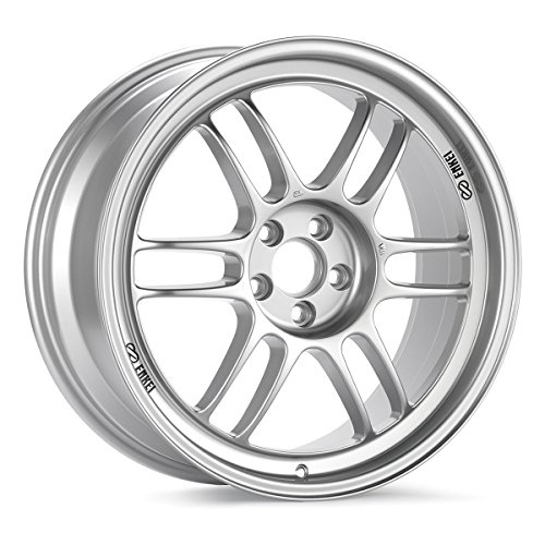 17×9 Enkei RPF1 (F1 Silver) Wheels/Rims 5×114.3 (3797906545SP)