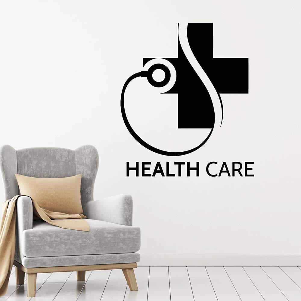 BailongXiao Health Care Logo Vinilo Tatuajes de Pared clínica Arte ...