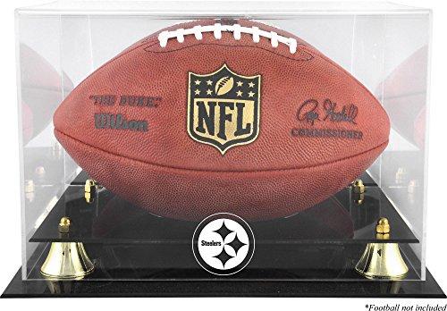 Mounted Memories Pittsburgh Steelers Team Logo Football Display Case