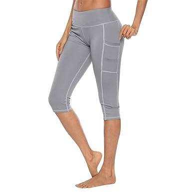 cinnamou Pantalon Mujer Yoga: Amazon.es: Ropa y accesorios