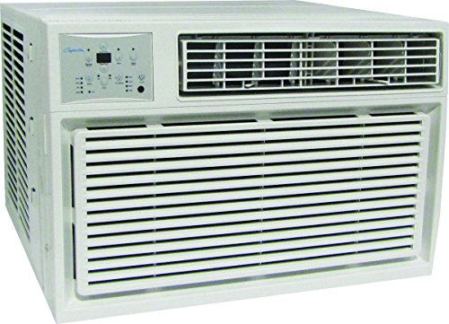 (HEAT CONTROLLER REG-123M Comfort 4-Way Room Air Conditioner with Electric Heat, 11600/12000 Btuh, 279 Cfm, 450-550 Sq-Ft)