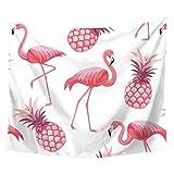 tidy decor Tapestry Wall Hanging Flamingo Hippie Beach India Art Cool Bohemian Blanket