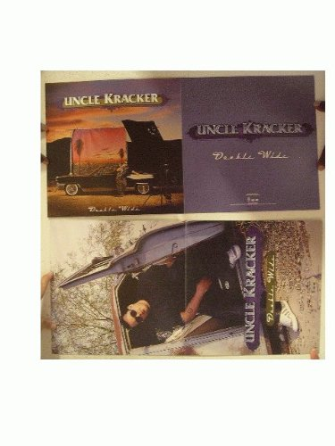 Uncle Kracker Poster Double Wide Two Sided