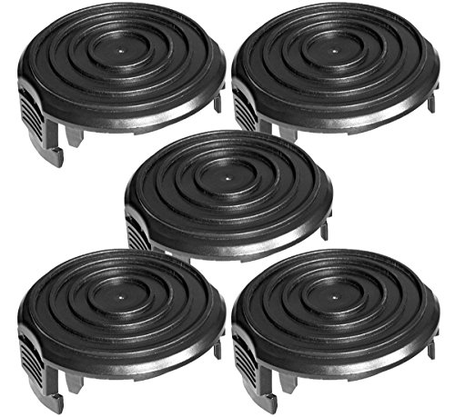 WORX 5 Pack) WA0037 Replacement Spool Cap Cover for Grass...