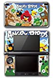 Angry Birds Red Chuck Bomb Pig Video Game Vinyl Decal Skin Sticker Cover for Original Nintendo 3DS System