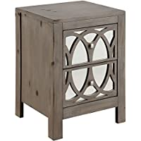 Furniture of America CM7585N Zaragoza Rustic Natural Tone Nightstand