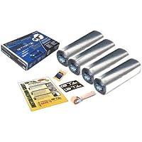 GTMAT 200 sqft Bumper to Bumper Automotive Sound Deadening 50mil PRO – Acoustic Dampening Installation Kit Includes: 200sqft 4 Rolls (18in X 33ft), Instruction Sheet, Application Roller, Degreaser, GT MAT Decals