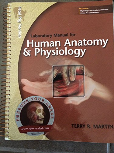 Laboratory Manual for Human A&p: Fetal Pig Version