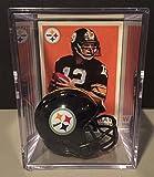 Pittsburgh Steelers NFL Helmet Shadowbox w/Terry