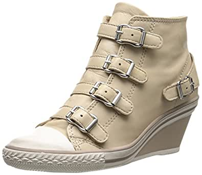 Ash Women's Genial Fashion Sneaker, Clay, 35 EU/5 M US