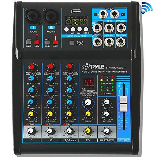 Pyle Professional Audio Mixer
