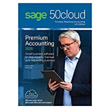 Sage Software Sage 50cloud Premium Accounting 2020 U.S. 1-User One Year Subscription