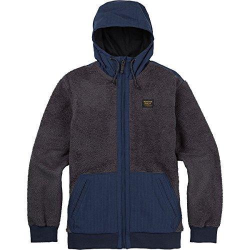 Burton Tribute Full-Zip Fleece Hoodie - Men's Faded, - Fleece Burton Hooded Jacket