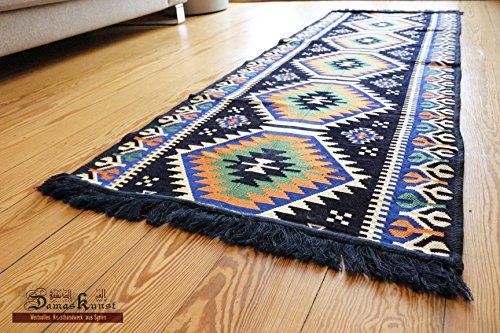 Chehade GmbH Carpet 70x200 cm,2,3'x6,5', Oriental Carpet Kilim Rug Kelim/Floor Mat,Tapestry wall hanging,Floor runner, Area Rug, Rugs,Teppich,Läufer,Tapis,Tapiz,alfombra S 1-3-79