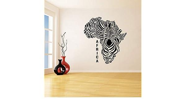 Cebra Extraíble Pegatinas de Pared para la Sala de Vinilo ...