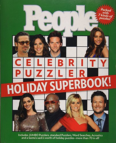 The PEOPLE Celebrity Puzzler Holiday Superbook! from Brand: People