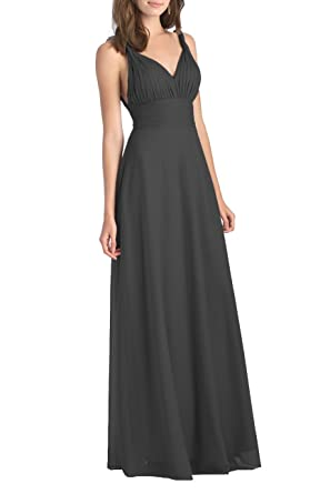 YORFORMALS Womens Halter Chiffon Formal Evening Dress Multiway Transformer/Wrap Infinity Gown Size 2 Black