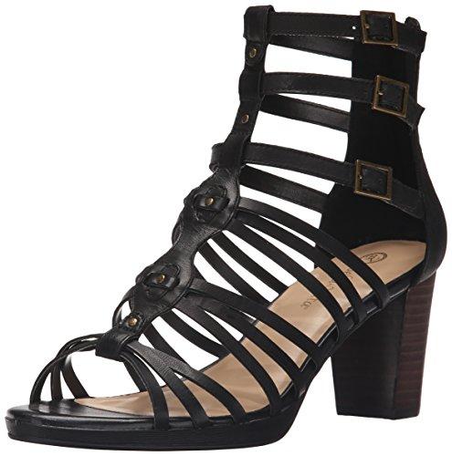 Bella Vita Womens Layne Gladiator Sandal Black