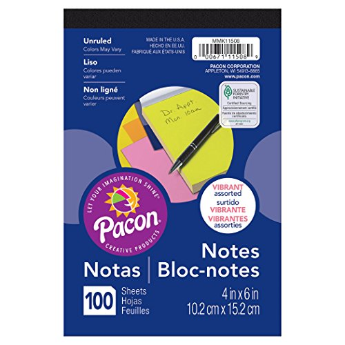 (Pacon PACMMK11508 Note Pad, 4