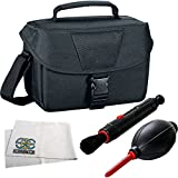 SSE Deluxe Accessory Kit for Galaxy Gear VR. Includes Deluxe Carrying Case + Cleaning Pen Brush + Air Blaster Dust Blower + Microfiber Cleaning Cloth