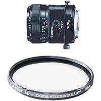 Canon TS-E 90mm f/2.8 Tilt Shift Lens for Canon SLR Cameras Filter Bundle
