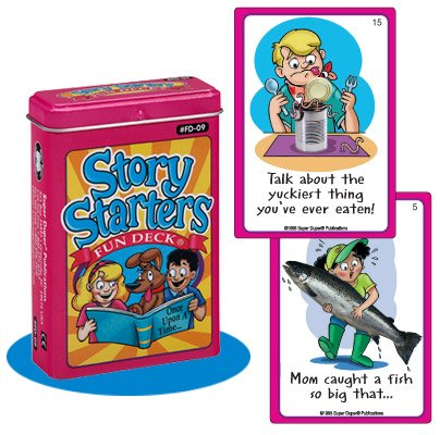 Super Duper Publications Story Starter Fun Deck Flash Cards Educational Learning Resource for Children by Super Duper Publications