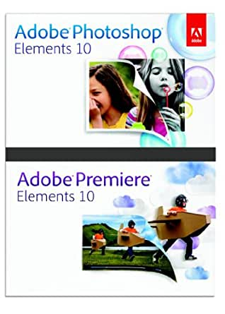 Adobe Photoshop Elements and Premiere Elements 10 for Windows [Download] [OLD VERSION]