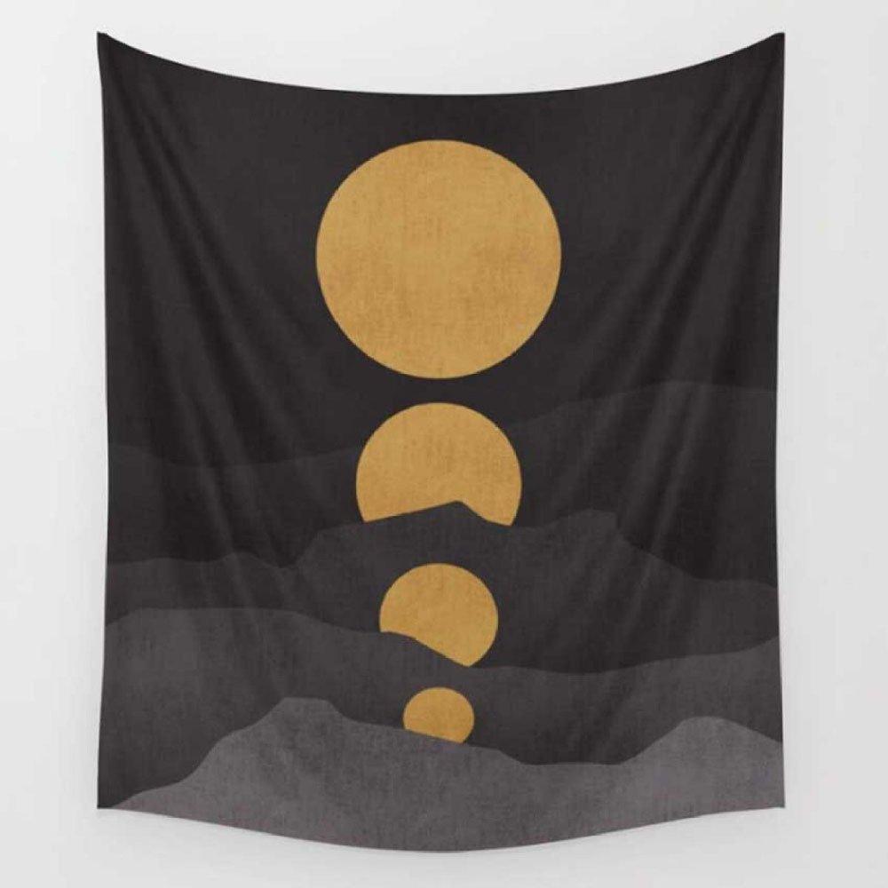 Tapestry Europäischen Stil Druck Hause Hause Hause Wandbehang Wandbehang Strandtuch Strand Decke,F-150  130cm B07F14GXQJ Duschmatten 8e978a