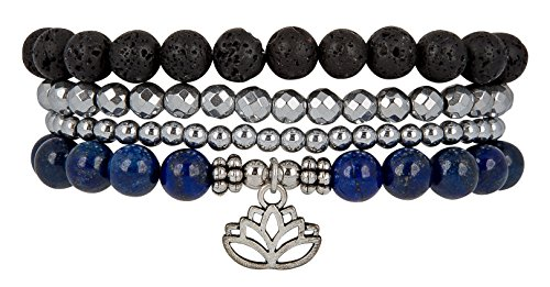 Beginnings Bracelet Hematite SPUNKYsoul Collection