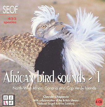 African Bird Sounds Vol. 1: North Africa and Atlantic Islands