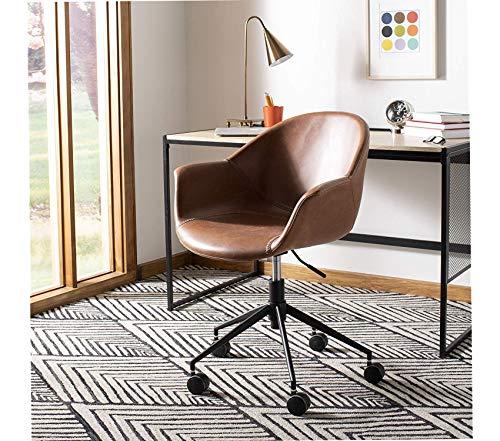 Sаfаviеh Ember Office Desk Chair Green/Black Green/Black (Upholsted)