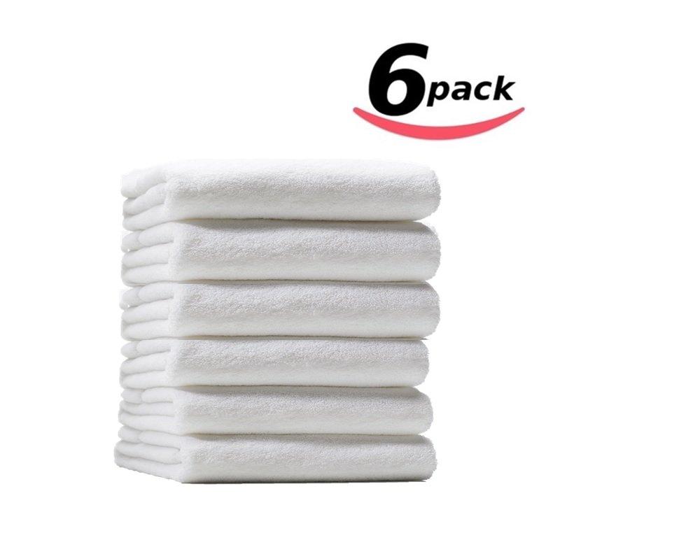 Bella Kline Premium Soft 100% Cotton Luxury Hotel Hand Towels - 6PK