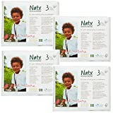 Naty, ECO by Naty Diapers (Size 3, 31 Count, Pack of 4)